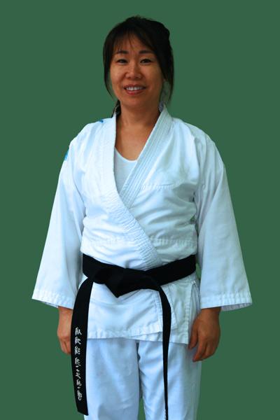 Master Michelle Park in dobok