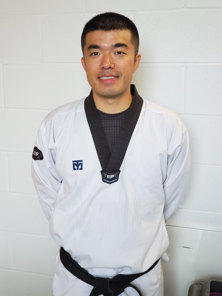 Mr Chanho Lee in dobok